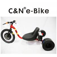 Wholesale Electric Pedal Assist Three Wheel Drift Bike , 60km/h Speed Big Wheel Motorized Drift Trike from china suppliers
