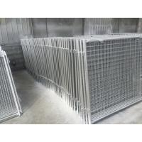 Wholesale Long Life Custom Galvanized Steel Wire Garbage Cage , Professional Waste Cage from china suppliers