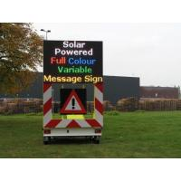 Wholesale Full Color Portable Variable Message Sign Solar Powered With Amber Color from china suppliers