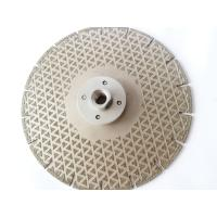 "Wholesale 7"" Electroplated Diamond Saw Blade Diamond Cutting Disc For Marble Cutting Grinding from china suppliers"