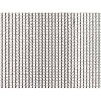 A piece of stainless steel cable metal mesh on the white background.