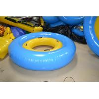 Wholesale Yellow / Blue Trapualin Infalatble Water Sport Toys 2.5m / 5m For Swimming Pool from china suppliers