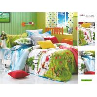 Wholesale Flat Green Queen Size Patterned Decorative 100% Cotton Custom Bedding Sets from china suppliers