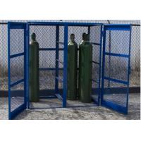 Wholesale Propane Bottle Storage Cage , Refrigerant Storage Cage Single / Double Doors from china suppliers