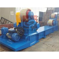 Quality 10T Capacity Heavy Duty Pipe Rollers / Pipe Welding Rollers With PU Wheels for sale