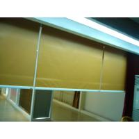 Wholesale Yellow Electric Fabric Roller Blind, Motorized Roller Shades from china suppliers