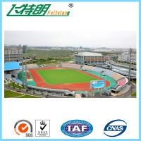 Wholesale Full PU Glue Rubber Running Track Plus SBR Particle Mixture For Playground from china suppliers
