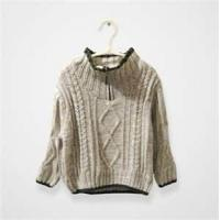 Wholesale Cool high collar knitted kids pullover sweater,woolen children sweater from china suppliers