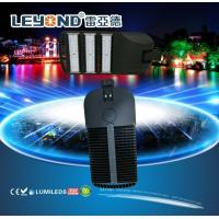 Buy cheap LUMILEDS 5050/3030 chip LED Street Lighting , led road lamp black / gray housing from wholesalers