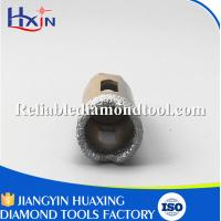 Wholesale Overall length for 60mm for Stone/Ceramic/Glass Golden Brazed Diamond Core Drill Bit from china suppliers