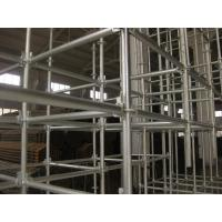 Wholesale hot galvanized steel Round  ring lock scaffolding system for tunnel, building construction from china suppliers