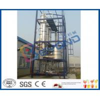 Wholesale Continuous Feeding Multiple Effect Falling Film Evaporator With CIP Cleaning System from china suppliers
