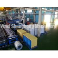 Wholesale PU Sandwich Panel Production Line Electrical / Hydraulic Controlling from china suppliers