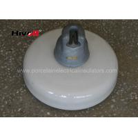 Wholesale 160KN Porcelain Suspension Insulator / White Porcelain Insulators With Zinc Sleeve from china suppliers