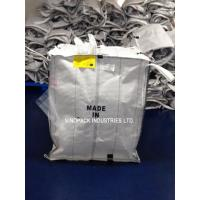 Wholesale White Conductive Big Bags , Fibc Big Bags Preventing Combustion And Explosion from china suppliers