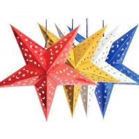 Wholesale five pointed star for wedding Christmas decoration from china suppliers