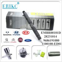 Wholesale EMBR00101D delphi diesel common rail injector 28236381 R00101D 9686191080 for FIAT FORD SSANGYONG KIA HYUNDAI PEUGEOL from china suppliers