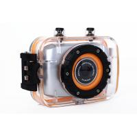 Wholesale Waterproof Mini Action Video Cameras / Outdoor Sports Photography Camera 2 Inch Touch Screen from china suppliers