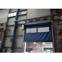 Wholesale Remote control high speed open and close PVC curtain door for warehouse from china suppliers
