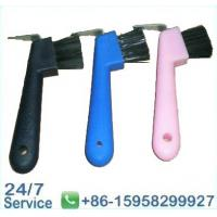 Wholesale Hoofpick brushes with scraper horse grooming equipment - BN5057 from china suppliers