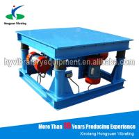 Wholesale Durable electronic Concrete Vibration Table for bulk material handling from china suppliers