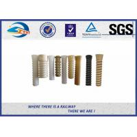 Wholesale ISO Plastic Dowel for Railroad Fastenings With PA66 or HDPE from china suppliers