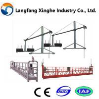 Wholesale zlp630 suspended gondola  for building maintenance from china suppliers