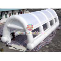 Wholesale White Arches Inflatable Air / Party / Camping Tent Flameproof Non - Toxic from china suppliers