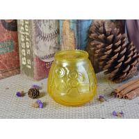 Buy cheap new product Wholesale custom glass candle containers from wholesalers