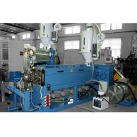 Quality PVC Cable Extrusion Machine , Cable Processing Equipment 6 Segment Temperature Control for sale