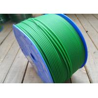 Wholesale 3mm green color and orange color Diameter Industrial transmission PU Polyurethane Round Belt cord from china suppliers
