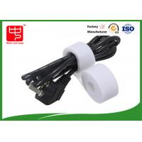 Wholesale Hook loop Double Sided hook and loop Roll for Computer cord wrap , 25m / roll from china suppliers