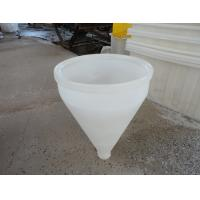 Wholesale Rotomoulding high quality large Plastic Hopper and PE food grade large plastic funnel D450*D80*H450 mm from china suppliers