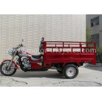 Wholesale Disc Brake Cargo Motorcycle , 300cc 250cc Motor Tricycle ISO9000 CCC Certification from china suppliers