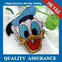 Wholesale W0518 Donald Duck iron on embroidery patch,embroidery patch iron on,china wholesale iron embroidery patch from china suppliers