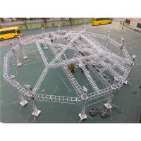 Wholesale Outdoor Big Event Lighting Box Trusses Aluminum LED Spigot / Bolt Truss 12m - 30m from china suppliers