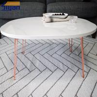 Wholesale Marble Color PVC Film Pressed Adjustable Wood Table Top MDF Panel from china suppliers