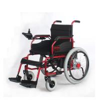 Wholesale Durable Self Braking Portable Electric Wheelchair For Handicapped / Elderly from china suppliers