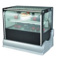 Wholesale Luxury Adjustable Free Standing Food Display Cabinets For Supermarkets / Coffee Houses from china suppliers
