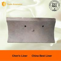 Buy cheap Good Wear Resistance Ball Mill Liner Plate / Steel Liners for AG Mills and SAG Mills from wholesalers