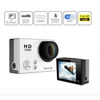 Wholesale 4K 30M Waterproof Sports Video Camera , Full HD 1080P Action Camera With 900mAh Battery from china suppliers