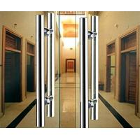Wholesale Double Sided Stainless Steel Exterior Door Handles Satin Stainless Steel Door Latch from china suppliers