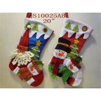 Wholesale Wholesale christmas decorative socks with mult stuffed design from china suppliers