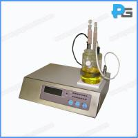 Wholesale Key Type Transformer oil moisture content tester from china suppliers