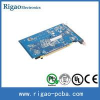 Printed Circuit Mother Board SMT PCB Assembly for Mobiles , High Volume and Prototype