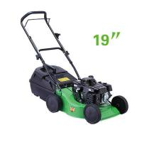 Wholesale Small size 19 Inch Hand push gasoline garden grass lawn mower  equipment from china suppliers