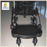 Wholesale Black Plastic Baby Buggy Board , Universal Buggy Board With Suspension from china suppliers