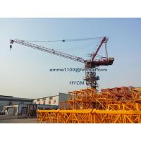 Wholesale D125 4526 Luffing Tower Crane 45M Boom  End Load 2.6 T Potain Mast Section from china suppliers