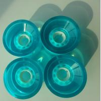 Wholesale 85a Pu Skateboard Wheels , Off Road Skateboard Wheels High Bounce 70 * 43 mm from china suppliers