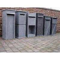 Wholesale Blue Limestone Mailbox Statue from china suppliers